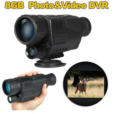 Master Night Vision Goggles Monocular Security Camera IR Next Gen Tracker Trail
