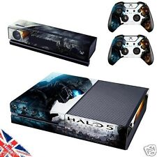 Halo 5 Xbox One 1 Console Skin Sticker Decal Wrap Console & Controller + Kinect