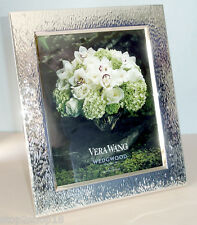 """Vera Wang Wedgwood Hammered Picture Frame 8x10"""" New In Box"""
