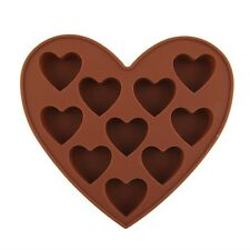 Cute Heart Shape Silicone Mold Chocolate Jelly Cake Decoration Mould DIY