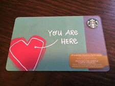 """Canada Series Starbucks """"YOU ARE HERE 2016"""" Gift Card - New No Value"""