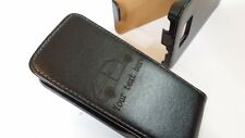 Samsung Galaxy S2 i9100 VW GOLF MK1 black leather flip phone case cover gti