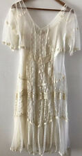 SUNDANCE CATALOG Gorgeous Air of Romance Lace Dress SMALL Orig $188 New
