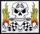 Scary Fast Skull Detail Decals for RC Cars, Late Models, Stock Cars, Dirt Oval