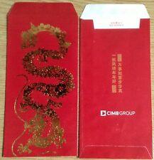 Ang pow red packet  CIMB 2 pcs 2012 new