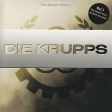 DIE KRUPPS Too Much History Vol.1 The Electro Years CD Digipack 2007