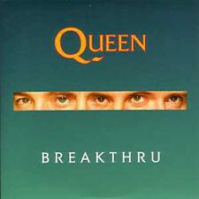 CD Single QUEEN Breakthru  + UK + 2-track CARD SLEEVE