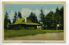 Nova Scotia - (Colchester Co) Truro Golf Club, golfers, 1949