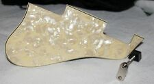ES 335 PICKGUARD AND NICKEL BRACKET  CUSTOM MADE VANILLA EGG Ivory Pearl