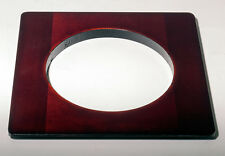 "1 LENS BOARD 5.5""x 5.5""RC for ZONE VI - 8x10""- Made of Solid Cherry, 95 mm hole"
