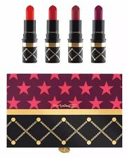 NIB MAC NUTCRACKER SWEET RED LIPSTICK KIT - HOLIDAY COLLECTION 2016 SET