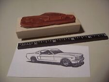 1965 Ford Mustang GT Fastback Car Rubber Stamp! 1966 Shelby 350