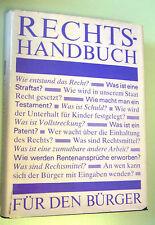 Rechtshandbuch == für den DDR-Bürger /DDR 1985 /mit Schutzumschlag