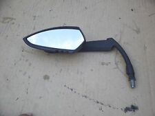 2008-2011 VICTORY VEGAS LEFT MIRROR BLACK VEGAS MIRROR LEFT LOOSE SCRATCHES OEM