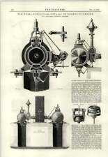 1889 Details Of Sulzer Compound Engine Paris Exhibition