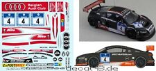 1/43 Decal Audi R8 LMS Ultra 'Belgian Audi Club WRT' 24h Nürburgring 2012