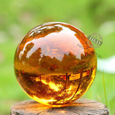 Asian Rare Glass Quartz Magic Crystal Healing Ball Sphere 40mm + Stand~