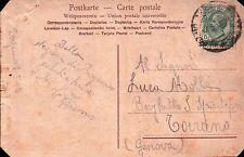 CARTOLINA DA MILITARE R.E. 1° RGT ALPINI IN STAZIONE A BERGAMO 1918 C6-274