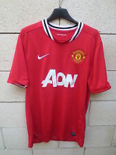 Maillot MANCHESTER UNITED 2012 NIKE home shirt Red Devils jersey football AON L