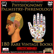 Occult Books Palmistry Phrenology Physiognomy Face & Palm Reading Chiromancy