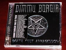 Dimmu Borgir: Death Cult Armageddon CD 2003 Nuclear Blast GmbH USA NB 1047-2 NEW