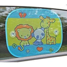 2 X Bebé Niño Del Niño coche divertido Sombrillas Seguridad Sol Pantalla Ciega protección