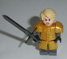 T.V. Lego Game of Thrones - Brienne of Tarth Gold Custom (Genuine Lego Parts)