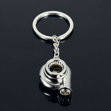 Creative Supercharge Turbo-Blower Pendant Keyring Keyfob Bag Purse Accessory