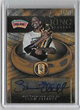 SEAN ELLIOT 2015/16 PANINI GOLD STANDARD RING BEARERS AUTOGRAPH #30/49 -SPURS!