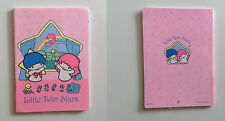 Vintage Sanrio Little Twin Stars quaderno notebook 1987