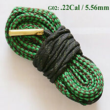 Green Calibre Bore Snake Calibre Rifle Barrel Boresnake Cleaner Kit Rope 5.56mm