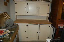 ANTIQUE KITCHEN CUPBOARD  STEP BACK  CABINET,OLD HOUSE SALVAGE, HOOSIER STYLE