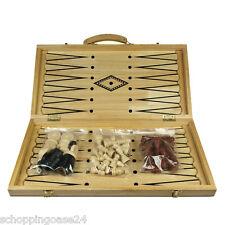 Backgammon Backgammonspiel Schahspiel Brettspiel Holz Nardi Nardy  3in1