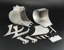 Bausatz eines Löffels Tieflöffel für Kettenbagger klein Edelstahl 1:14 1:16