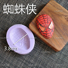 Superhero Logos Spiderman Silicone Cake Sugarcraft Fondant Soap Mold