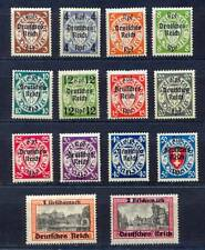 Deutsches Reich 716/29 postfrisch, Danzig mit Aufdruck komplett (11672
