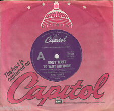 THE TUBES Don't Want To Wait Anymore / Think About Me 45
