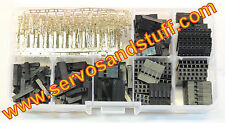 320pcs Dupont Connector Housing Kit and M/F Crimp Pins  Wire Jumper Pin Header