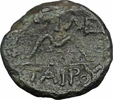 Pergamon Regal Coinage 282BC Athena Magic  & Bow Ancient Greek Coin i49672