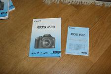 canon EOS 450D Bedienungsanleitung Gebrauchsanleitung Manual Camera Foto