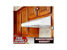 """Vent A Hood SLH6-K42-WH White Emerald 250 CFM 42"""" Under Cabinet Hood Free Ship"""