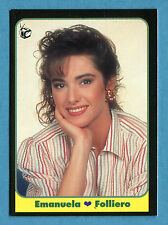 LE BELLISSIME -Masters Cards 1993 -n. 83 - EMANUELA FOLLIERO - TELEVISIONE -New