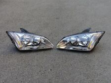 1Pair OEM Headlight Headlamp Lamps For Ford Focus 2005-2007