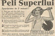 W4312 Crema depilatoria VEET - Pubblicità del 1930 - Vintage advertising
