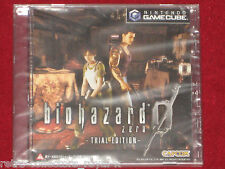 *New & Sealed* Nintendo GameCube BIOHAZARD ZERO TRIAL EDITION Resident Evil Demo