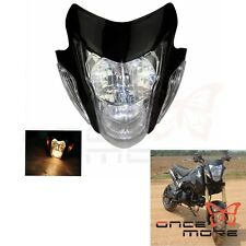Streetfighter Nake Black Sonic Style Headlight New FOR Honda Motorcycle