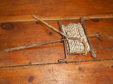 Vintage Old Garden Allotment Line String Twine Winder Stake Seed Drill Marking