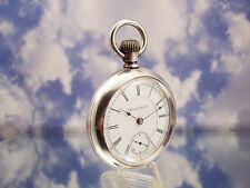 Early Antique Hamilton 934 Railroad Pocket Watch Nice Swing-out Case LOW SERIAL