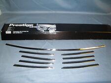 in.pro. Edelstahl Grillleisten Grill - Leisten für Audi A6 Typ 4B 2002-2004