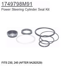 1749798M91 Massey Ferguson Parts Power Steering Cylinder Seal Kit 230, 245 (AFTE